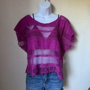 Kirra Crochet Lace Top